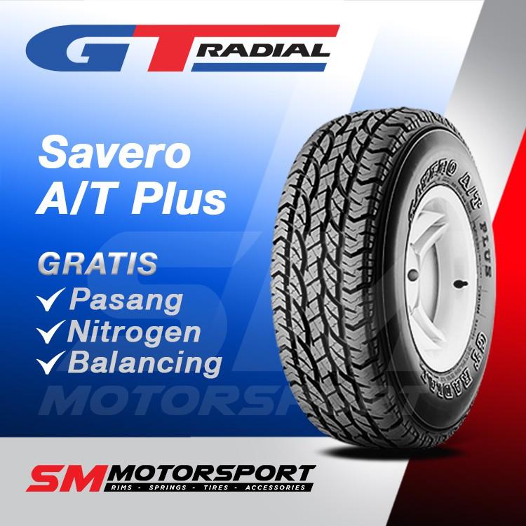 GT Radial Savero A/T Plus 275/70 R16 Ban Mobil