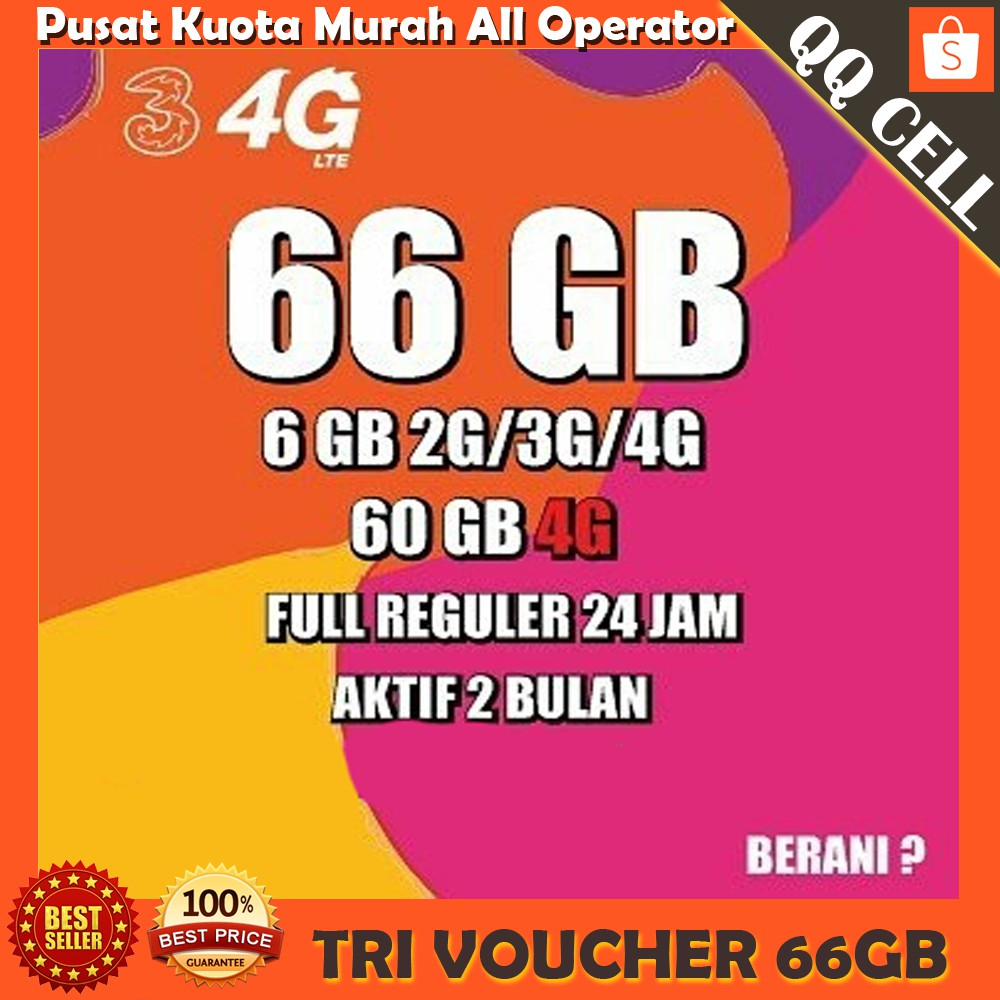 Voucher Isi Ulang Data Tri 1gb Bonus 1 Gb Total Kuota Vocer 2gb Voucer Perdana Paket Internet 3 Aon Regular 24 Jam Shopee Indonesia