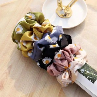 Scrunchie motif murah (random) 1