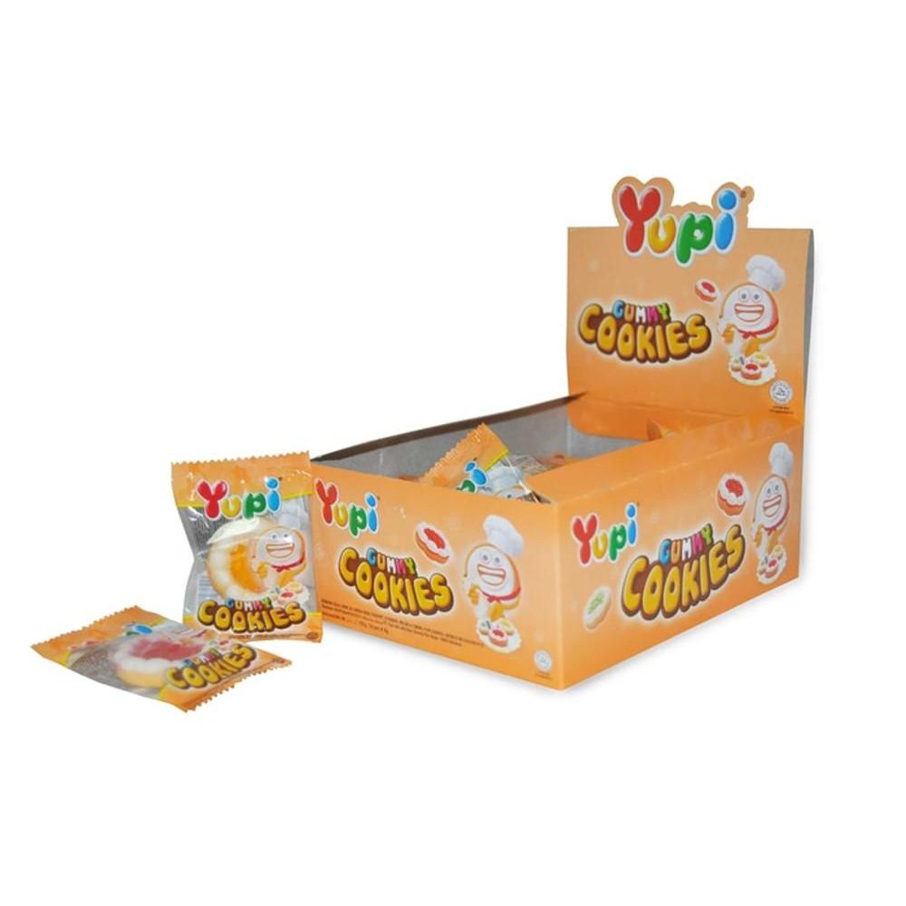 Yupi Box Eceran 500 Gummy Cookies Baby Bear Burger Shopee Indonesia Hot  Fangs