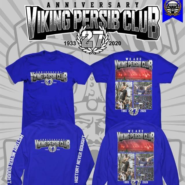 Baju Kaos Anniversary 27th Viking Persib Persib Club Original Quality Shopee Indonesia