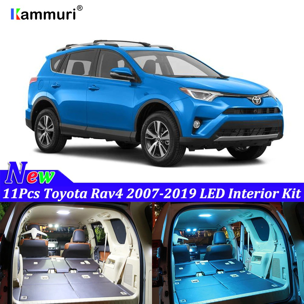 Toyota Rav4 Led Interior Lights Bulbs