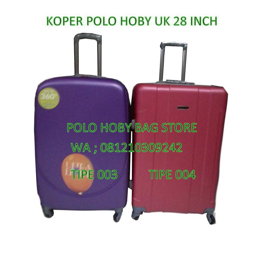 Tas Koper Polo Hoby Ukuran 28 Inch Shopee Indonesia Fiber Abs Kabin Size 20 705 Silver