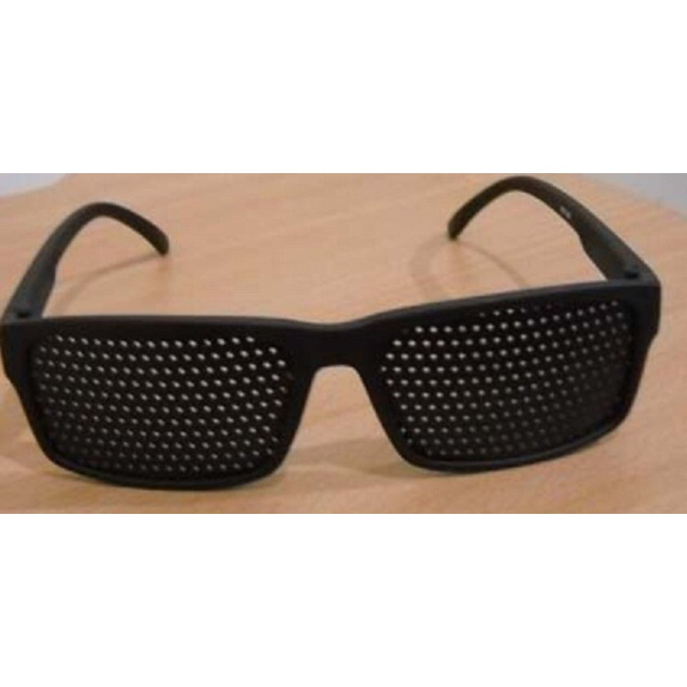Terbaik Kacamata Terapi Pengurang Minus Mata Diskon Shopee Indonesia Pinhole Glasses Tp 03 With Box