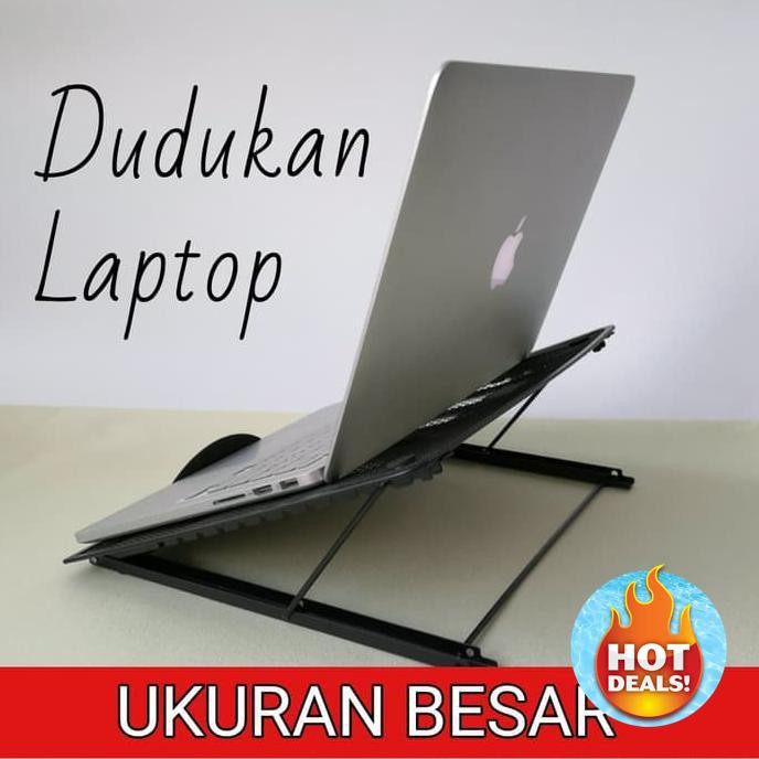 Dudukan Laptop Ipad Tablet Hp Besar / Laptop Stand Terbaru