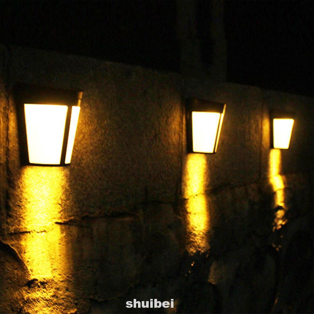 Wall Lamp Fence Light Garden Lights Modern Outdoor Waterproof Shopee Indonesia