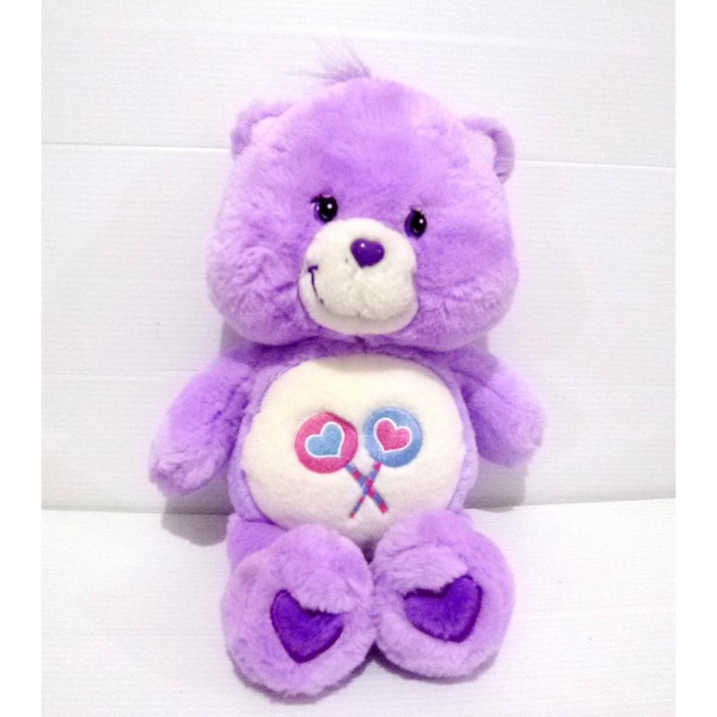 Message Recorder Stuffed Animals, Boneka Share Bear Care Bear Original Care Bears Plush Doll Shopee Indonesia