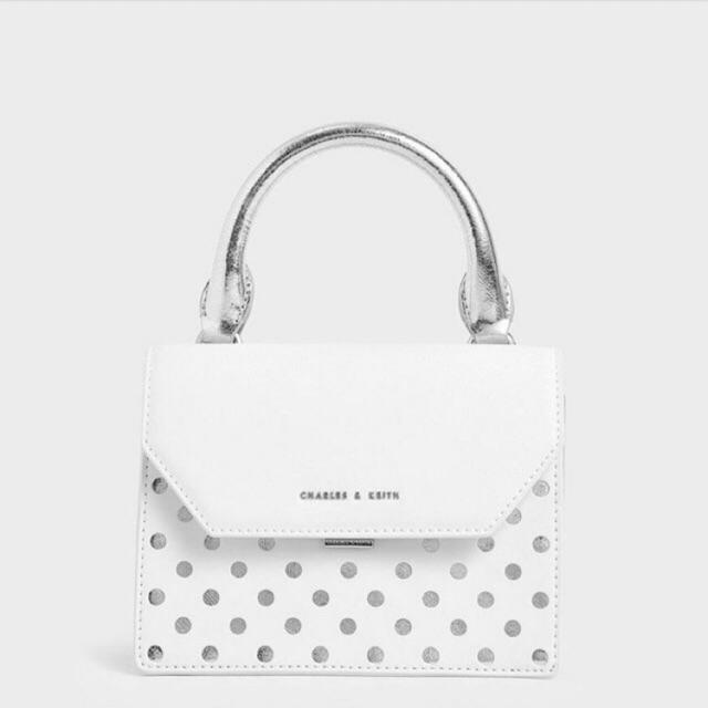 C K Laser Cut Small Top Handle Bag Shopee Indonesia
