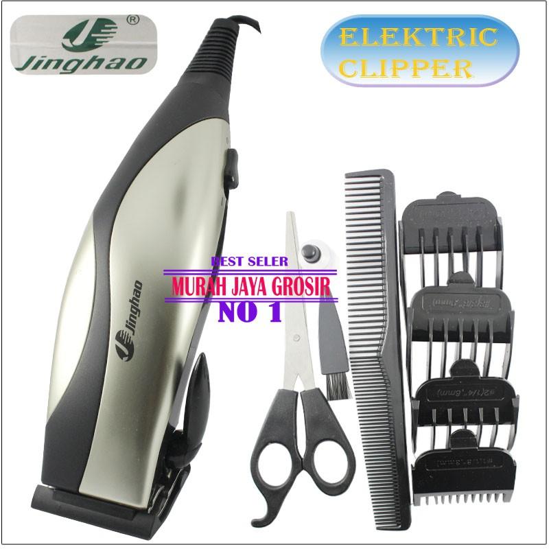 HTC 605 Hair clipper alat cukur rambut profesional alat cukur ... 5183821744