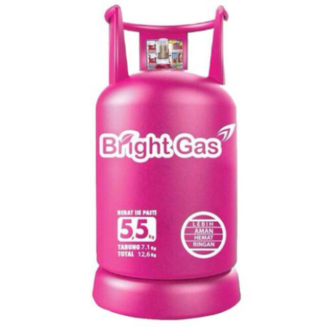 Tabung Gas Elipiji Bright Gas Isi 5 5kg Shopee Indonesia