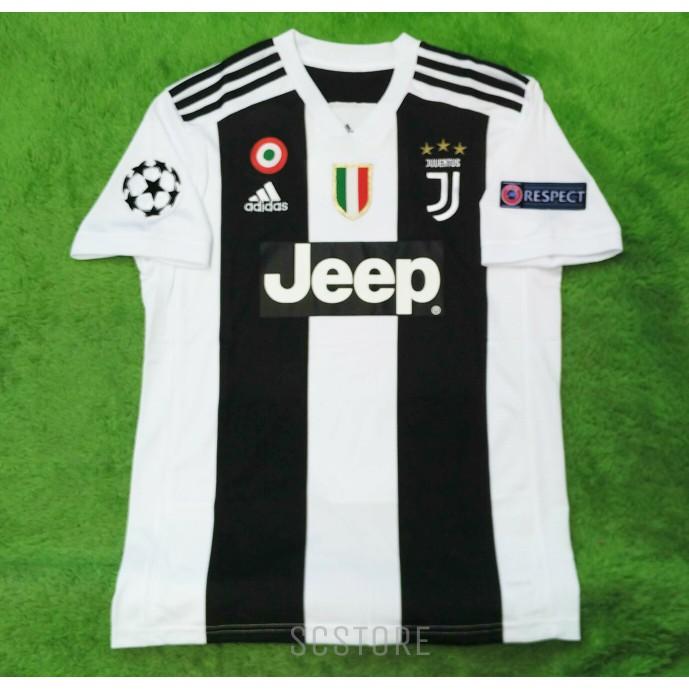 f6adcd2d165 Jersey Kaos Baju Bola Juve Juventus GK Home Kiper 2018 2019 Grade Ori