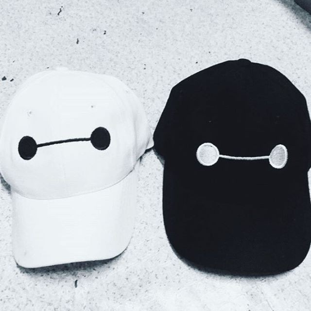 Topi Baseball   Baseball Cap Custom Inisial Nama - Black White ... 1642b48cb1