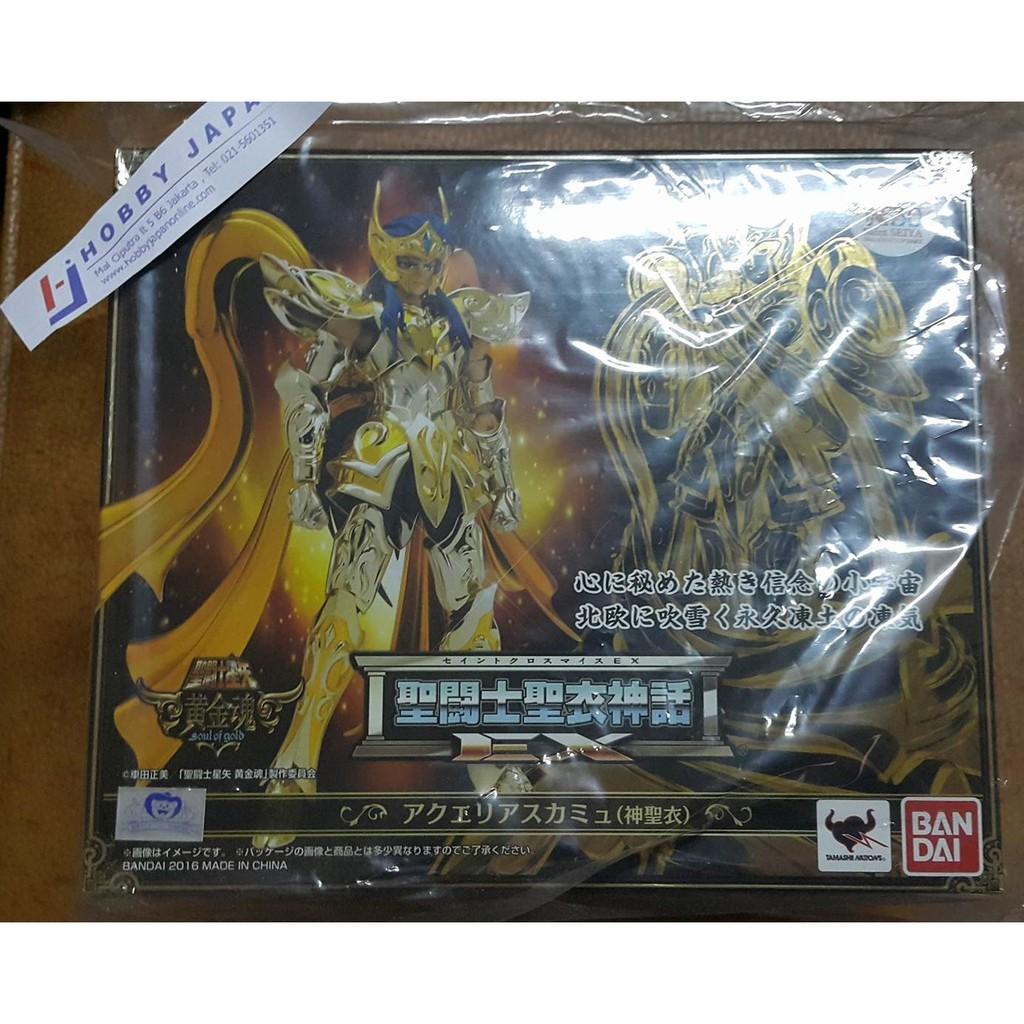 Bandai Ss Myth Ex Aquarius Camus God Cloth 0475275 Shopee Indonesia Dragon Ball Super Goku Big Size 35525