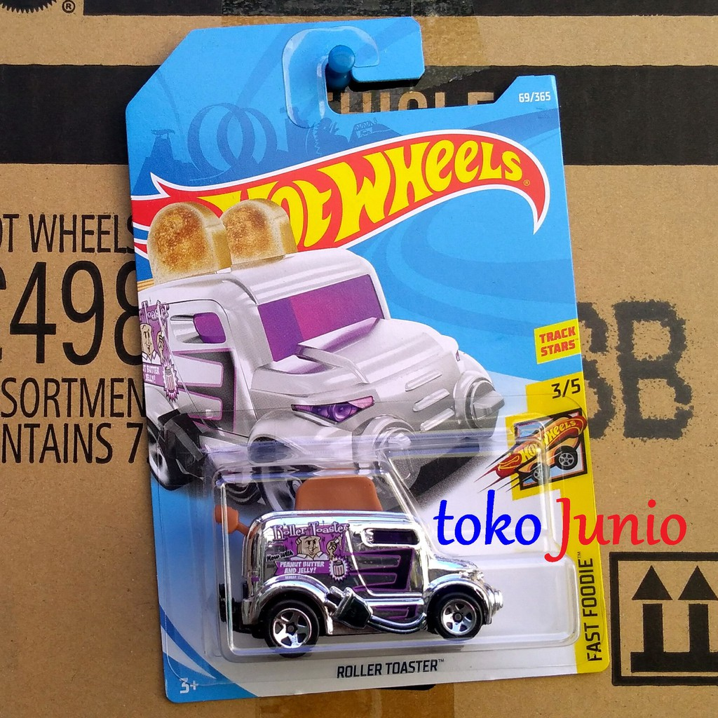 Hot Wheels Legends Of Speed Roller Toaster Diecast - Merah | Shopee Indonesia