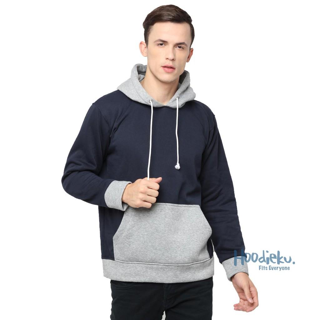Stripped Crewneck Hitam Shopee Indonesia Hoodieku Sweater Striped Maroon Unisex L