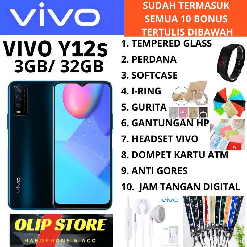 VIVO Y12 S Y12S 3/32 RAM 3GB ROM 32GB GARANSI RESMI 1 ...