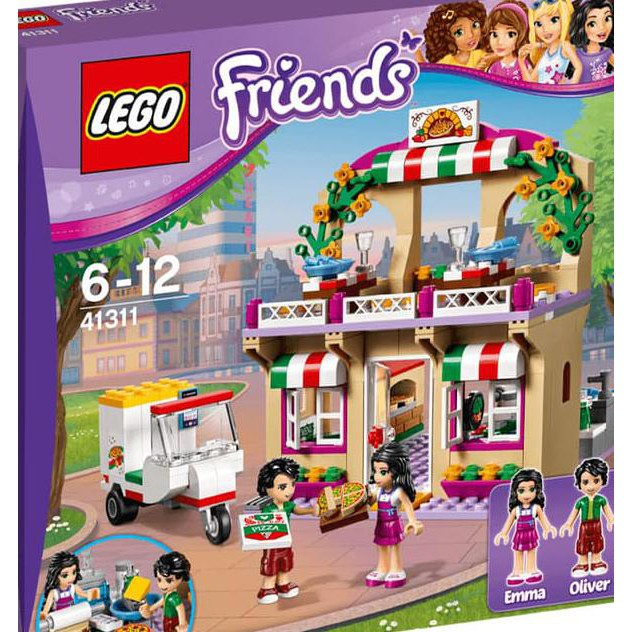 Lego 41311 Friends Heartlake Pizzeria Mainan Dan Hobi Shopee
