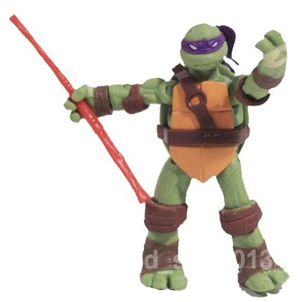 Teenage Mutant Ninja Turtles TMNT 4 Pcs Set Classic Collection Figure Toy