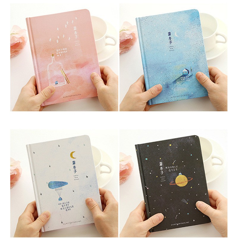 Creative Trend Color Pages A5 Notebook Little Blue House Diary