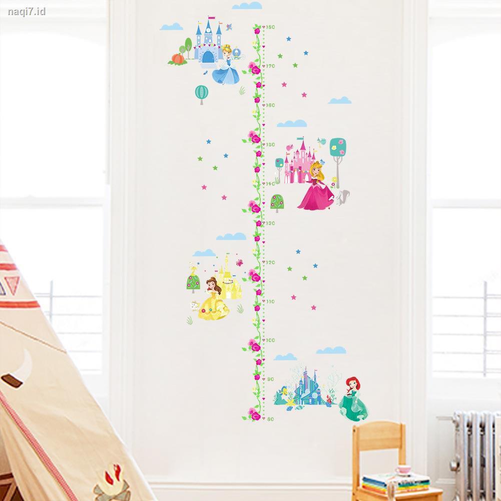 Stiker Dinding Gambar Kartun Princess Disney Lucu Untuk Kamar Anak