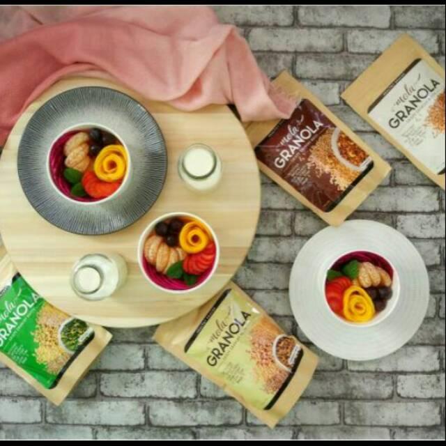 Paket Murah Meriah 7 Pcs Granola Makanan Sehat Bernutrisi Kaya