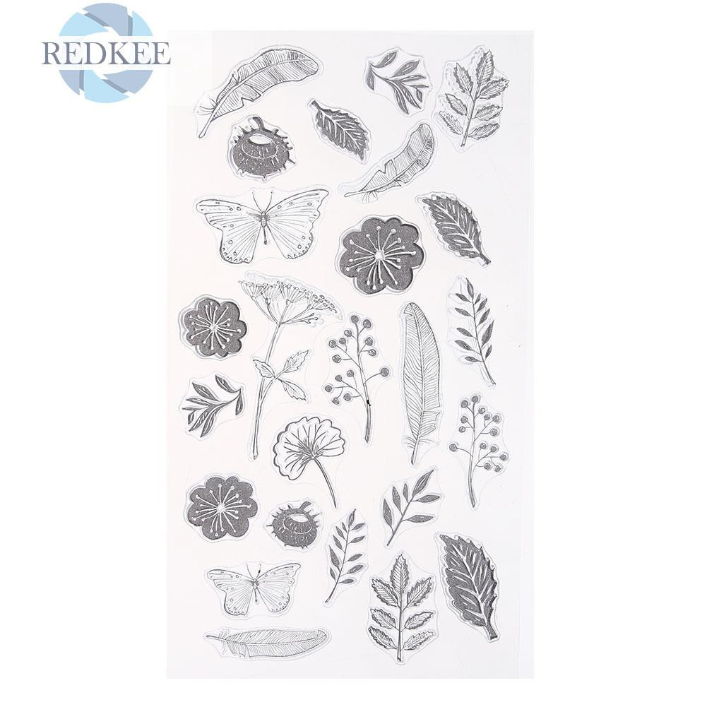At the Beach Clear Stamps Clear Rubber Stamps Card Making Supplies Photopolymer Stamps Scrapbooking Stamps