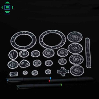 drawing games for adults Spirograph Drawing Toys Set Pens Draw Spiral Interlocking Gears Wheels Tools For Adults Kids Gifts