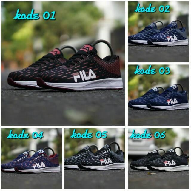 Sepatu Fila sneakers kasual pria sz 39 - 44 made in Vietnam Grade original   1a3ca43b25