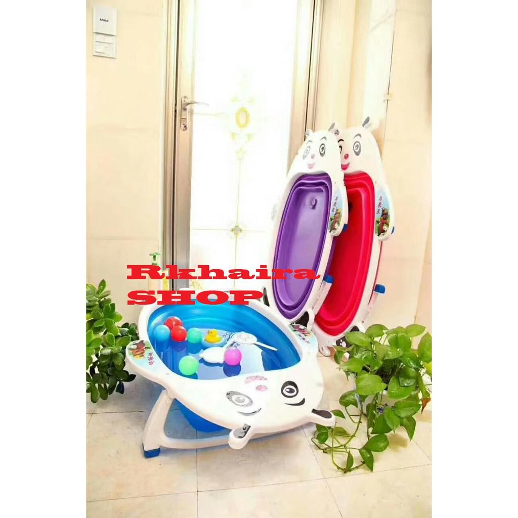 Potty Seat With Handle Training Toilet Bayi Alas Dudukan Balita Empuk Shopee Indonesia