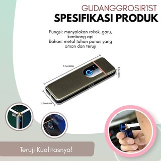 Kualitas #1 Korek Api Elektrik Fingerprint Touch Sensor ...