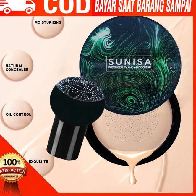 Asli's diskon sunisa | sunisa cushion waterproof | sunisa original | bedak sunisa | bedak sunisa ori