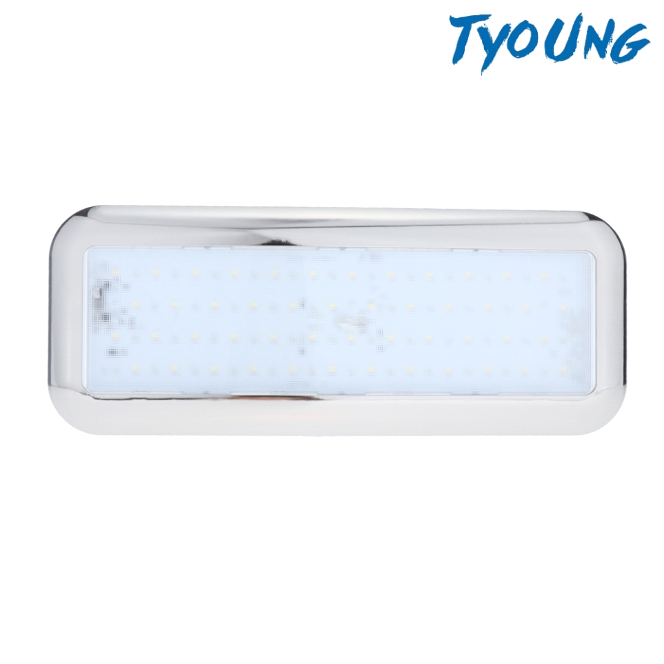 12v Led Interior Lights Doom Roof Light For Car Rv Camper Caravan Camping Shopee Indonesia