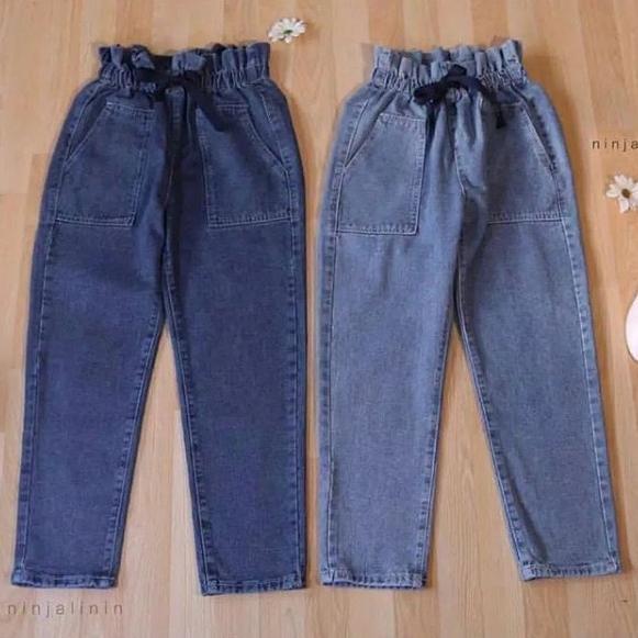[KODE W2000] Verona Pants - Celana Jeans Trendy