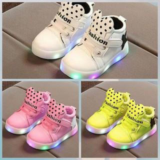 PAKAIAN ANAK BAGUS DAN MURAH Sepatu Anak Star Mickey Fashion Import Murah  Lampu LED b93310b964