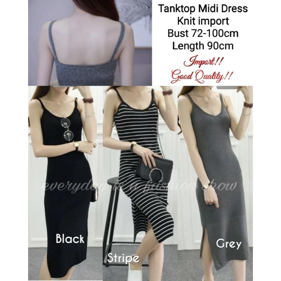 Tank+Top+Dress - Temukan Harga dan Penawaran Online Terbaik - Januari 2019 | Shopee Indonesia