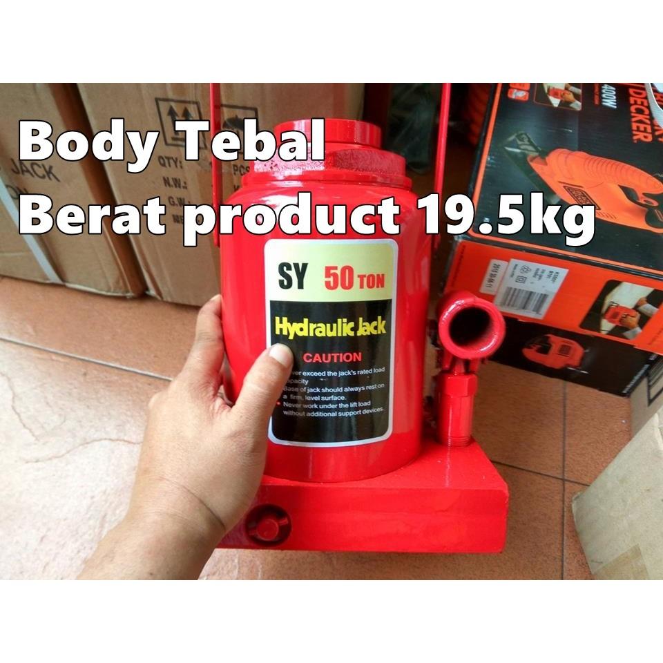 Best Seller Dongkrak Buaya 2 Ton Hydraulic Jack Shopee Indonesia Tekiro Botol 50