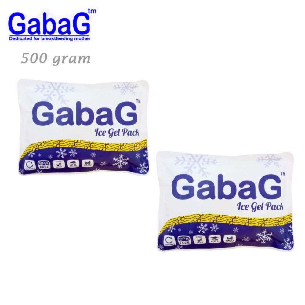 Gabag Ice Gel 500gr (kemasan baru) 500ml - Ice Gel Pack 500 ml / 500gram - Es Pendingin utk Tas ASI | Shopee Indonesia