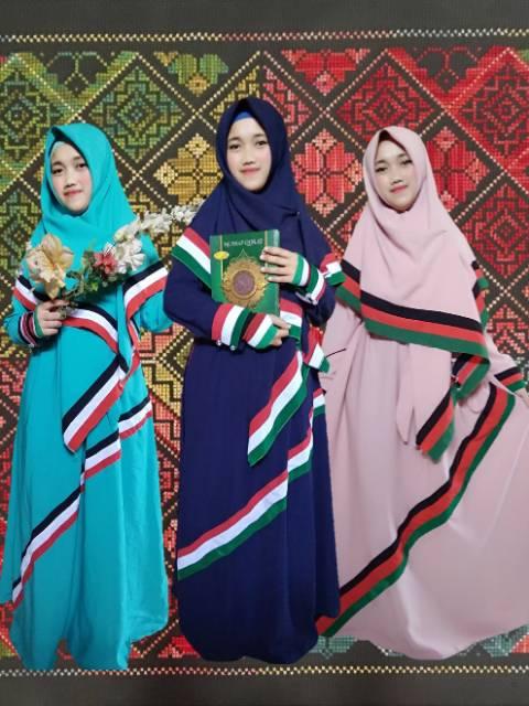 Baju Palestina Anak Perempuan