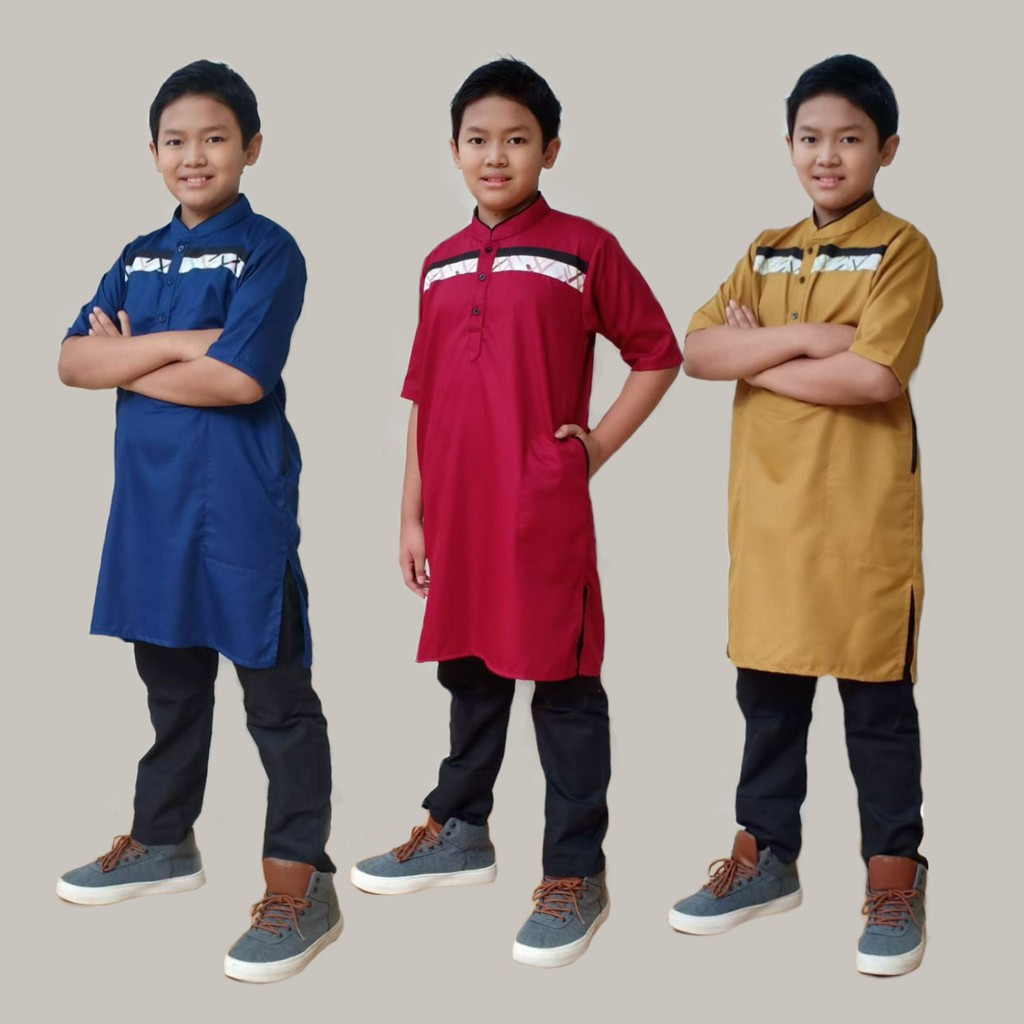 Kurta Anak Tunik Signatures Series by Qoulan Sadida