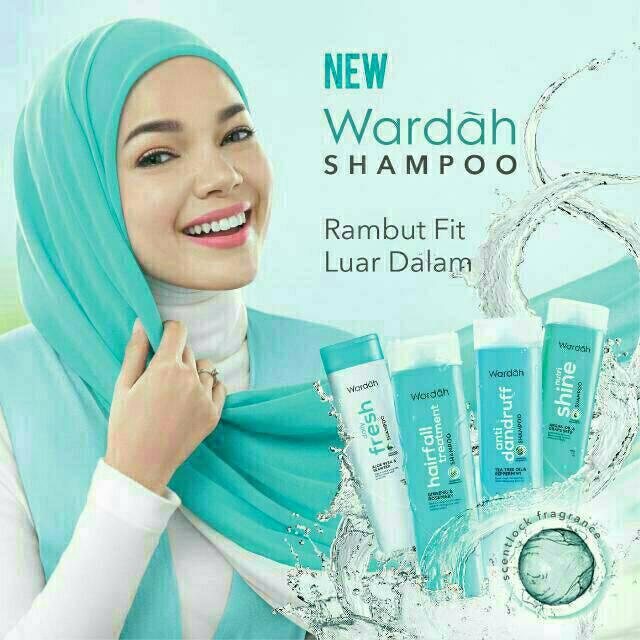 New!!! Wardah Shampoo 170ml-3