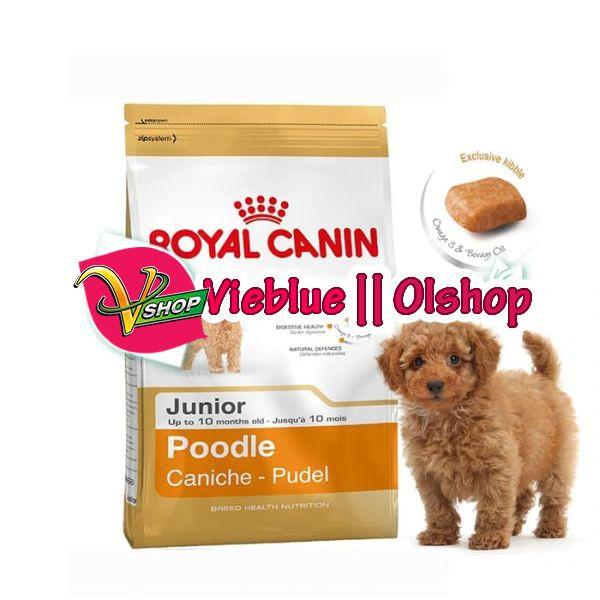 Makanan Anak Anjing Poodle Premium Royal Canin Poodle Junior 3 Kg Shopee Indonesia