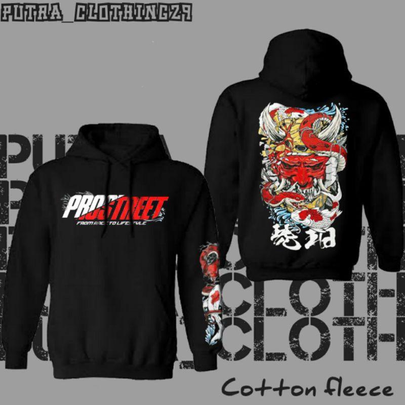 Jaket Sweater Hoodie Prostreet X Kohaku V3 - Fiksi Clothing