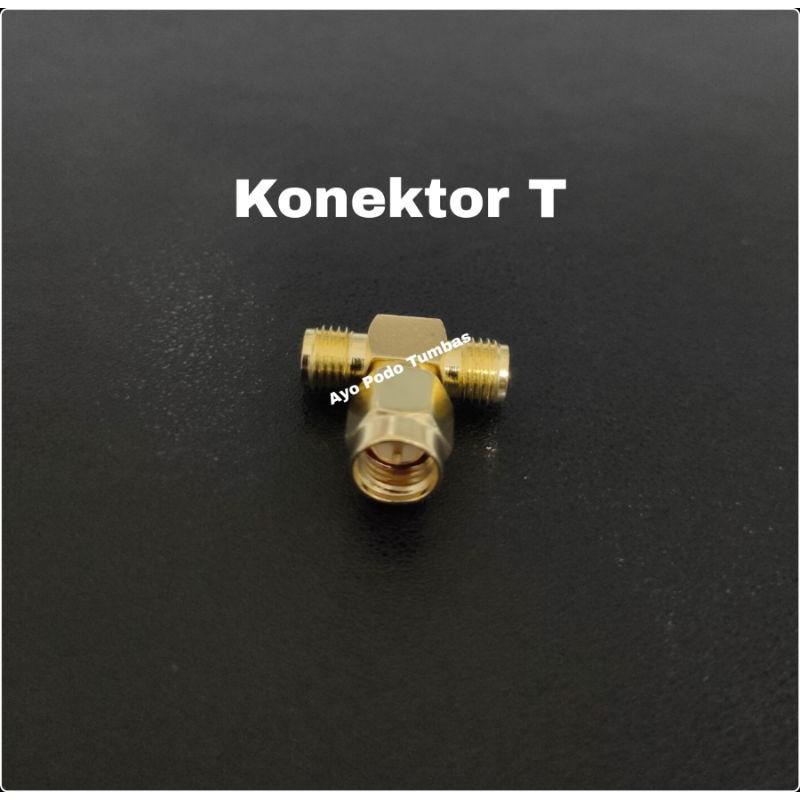 Konektor Conector Antena T Sambungan Router Telkomsel Orbit Star Huawei B311 B312