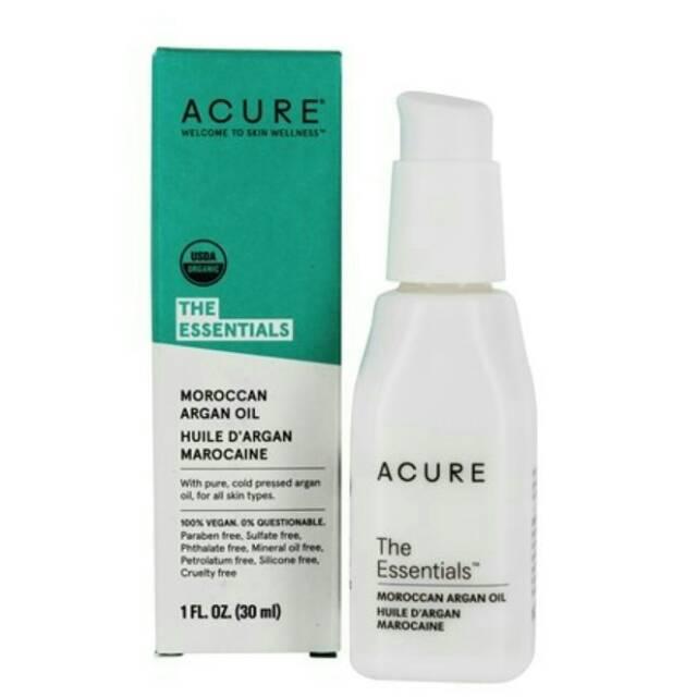 [READY] Acure, The Essentials, Moroccan Argan Oil, 1 Fl Oz