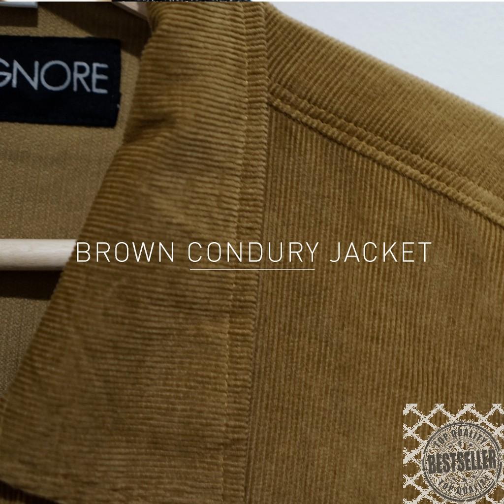 Emba Classic Bertucio Jacket Pria Warna Brown Shopee Indonesia Gifray Two Cokelat 30