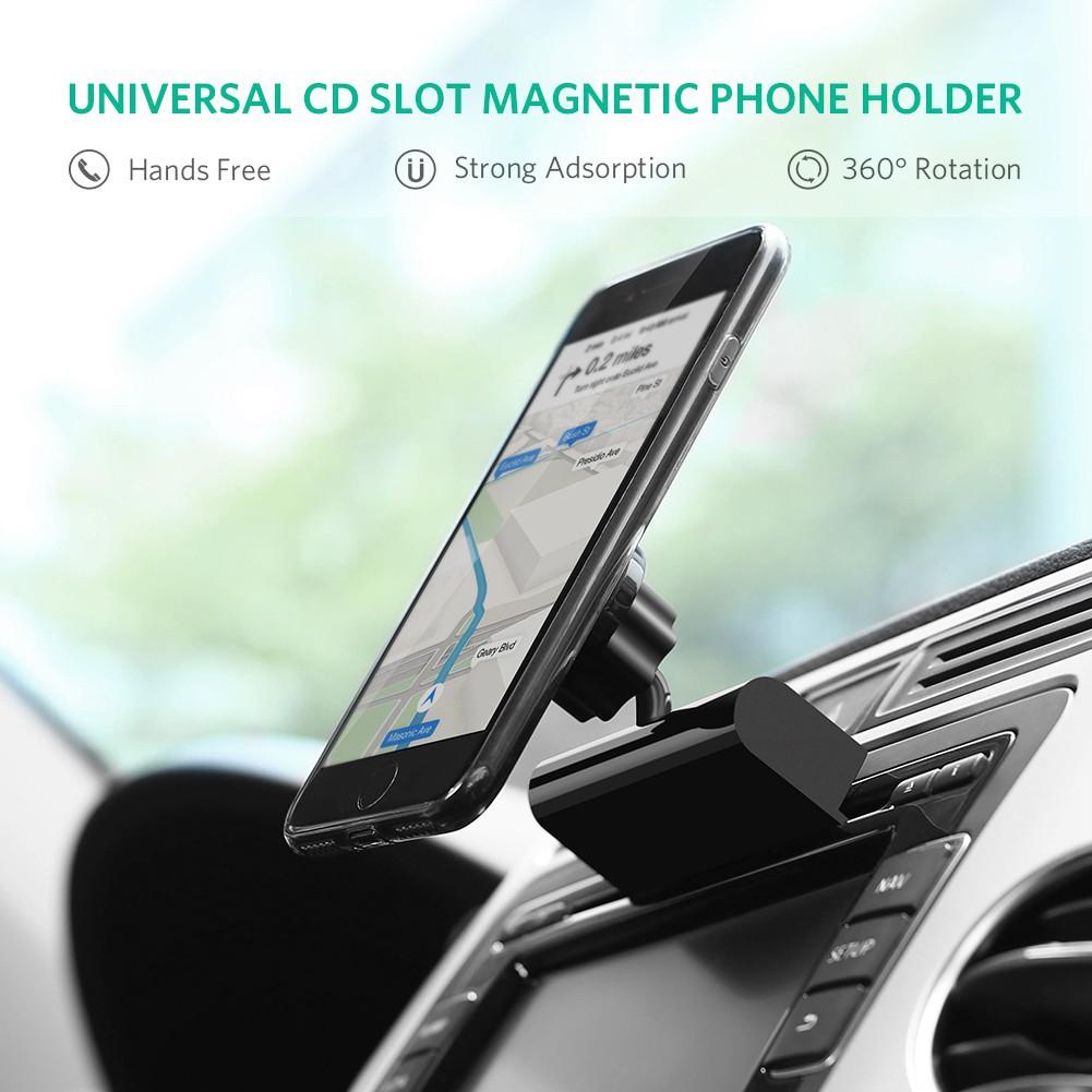 Holder Handphone Gps Dengan Slot Cd Untuk Mobil Shopee Indonesia Spion Di Universal