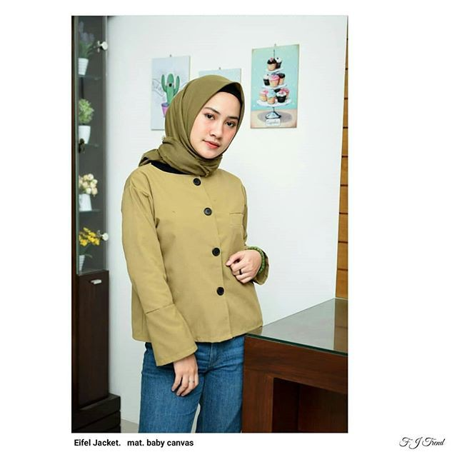 Eifel Jacket Jaket Wanita - Daftar Harga Terbaru   Terlengkap Indonesia 65eb626e80