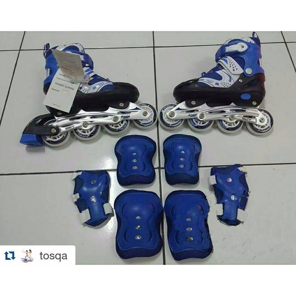 Sepatu Roda Anak + Dekker Inline Power Super  20ddda389d