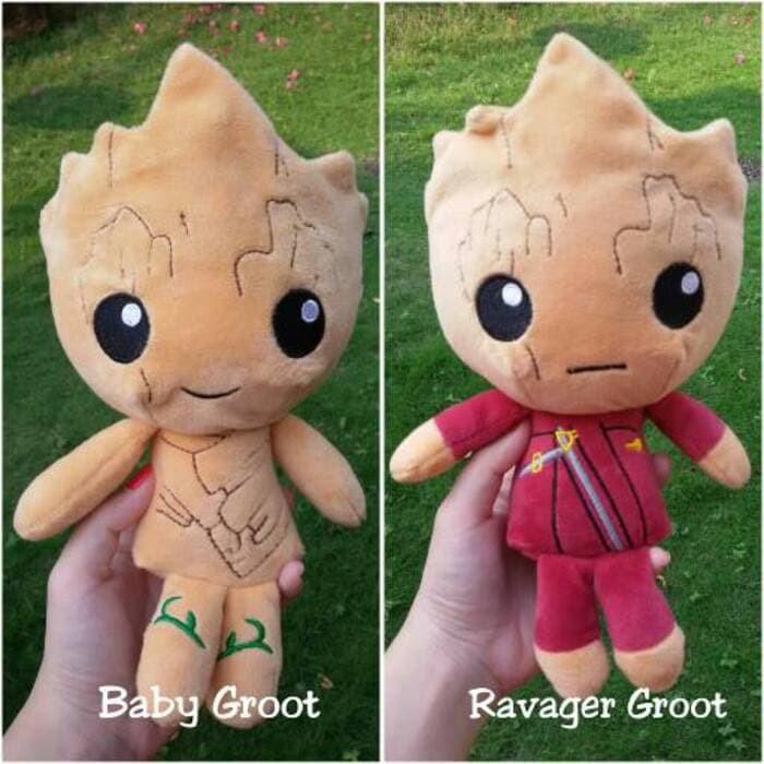 Boneka Baby Groot 20cm Guardians of The Galaxy Guardian Tree ... dc74c7df78