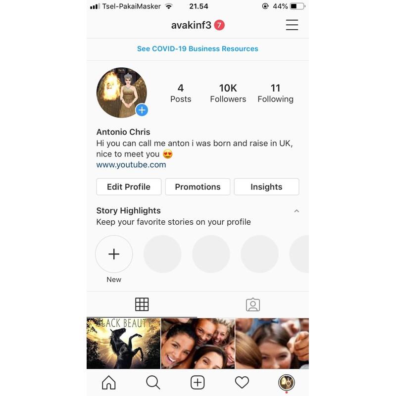 Akun Instagram 10K Indonesia Followers Real Aktif